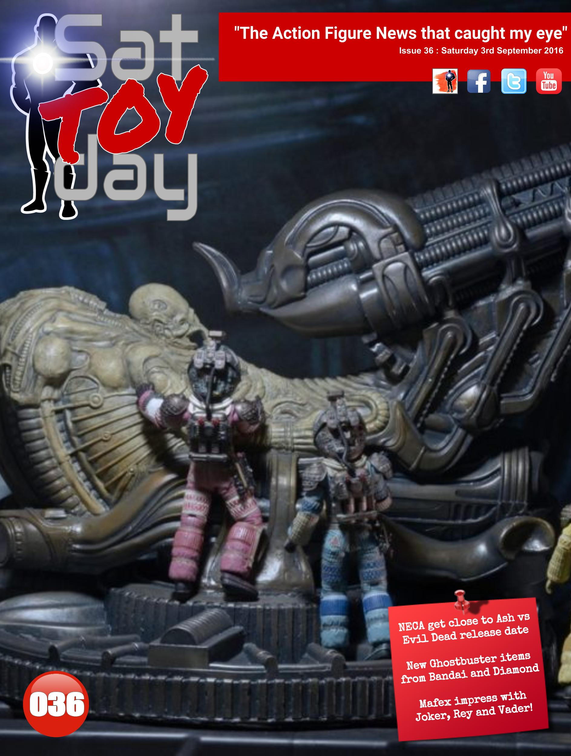 036 Action Figure Sat-TOY-day News, 3rd September 2016