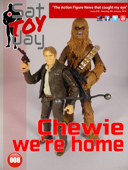 008 Action Figure Sat-TOY-day News, 9th January 2016
