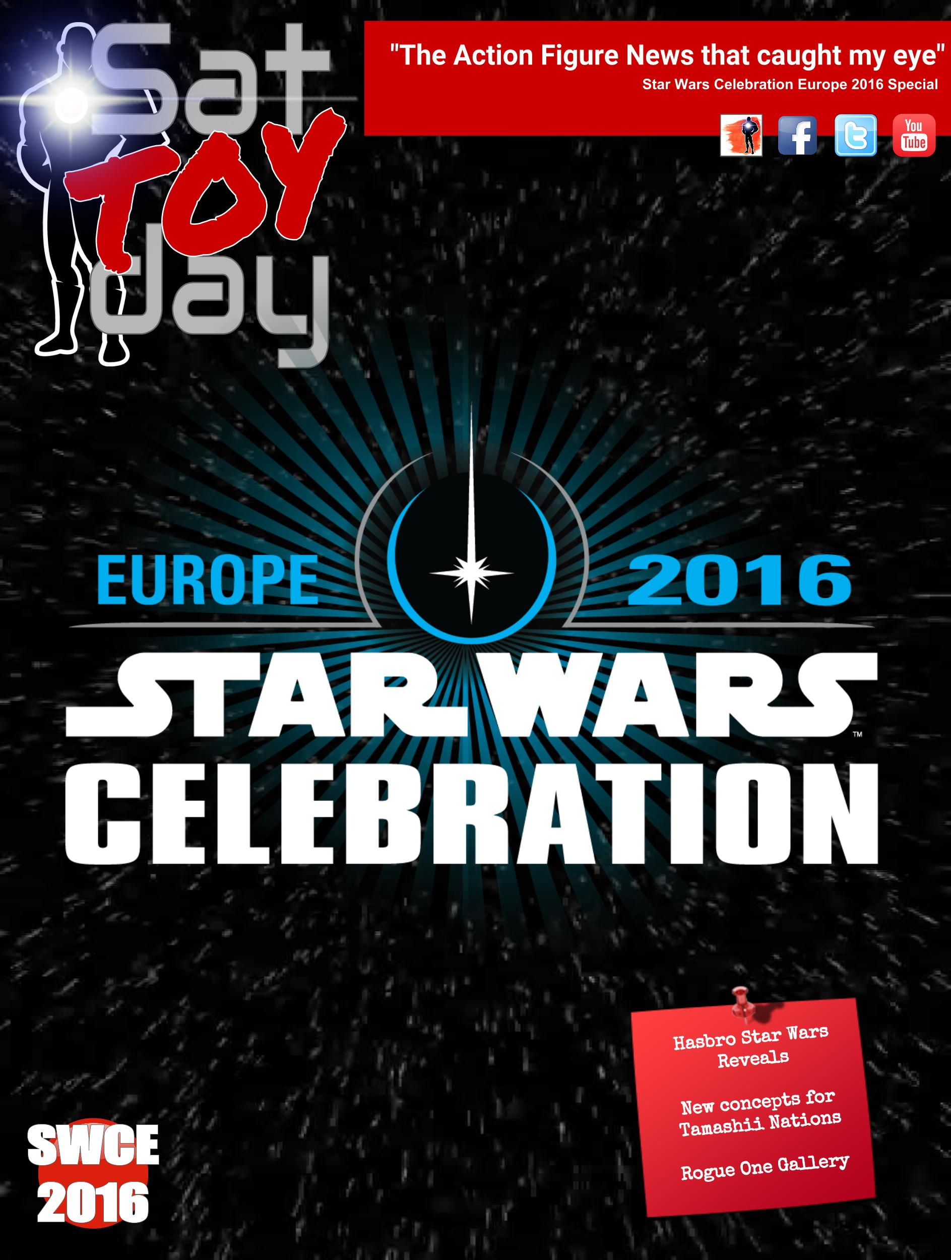 034a Action Figure Sat-TOY-day News, Star Wars Celebration Special