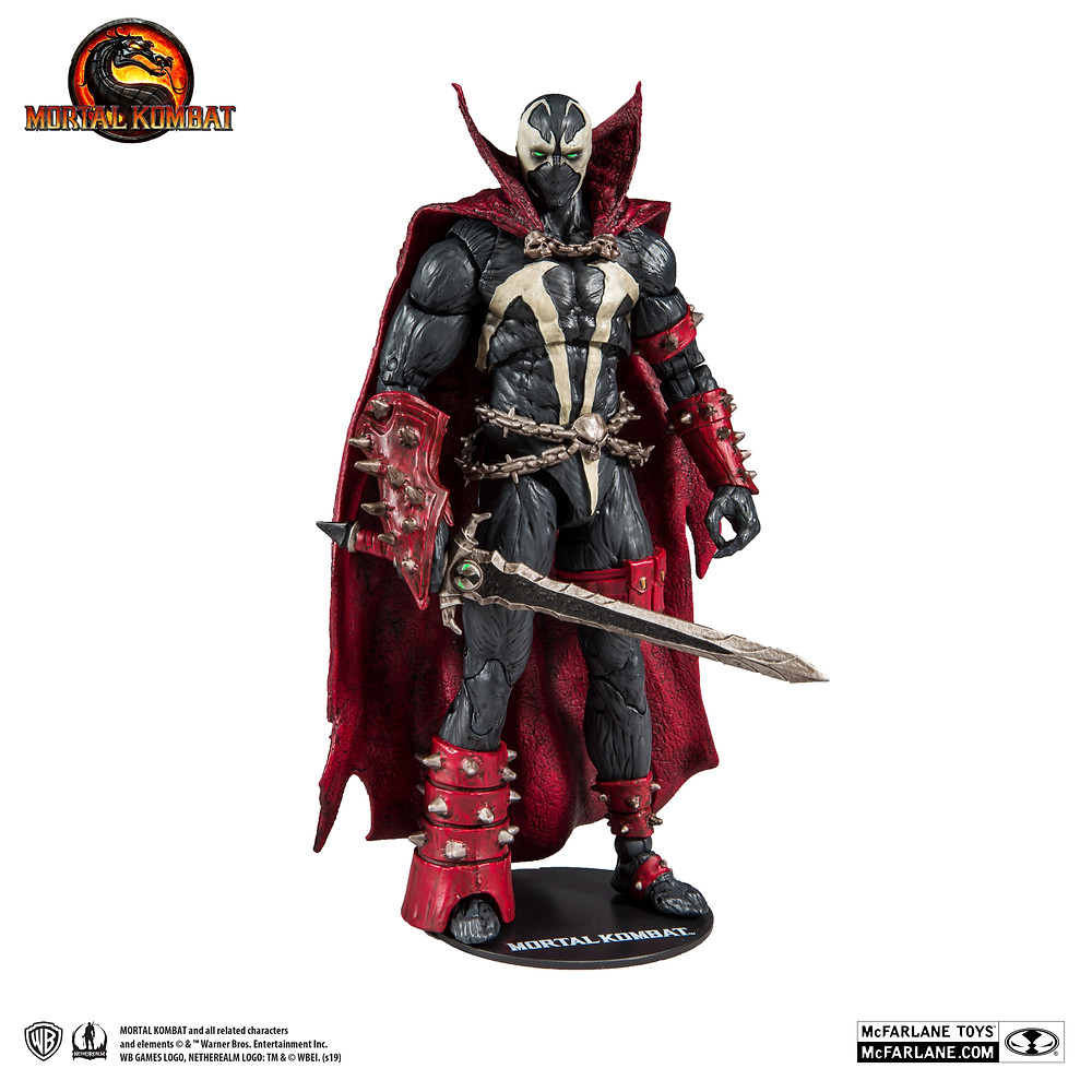 McFarlane Spawn 7 inch action figure from Mortal Kombat 11