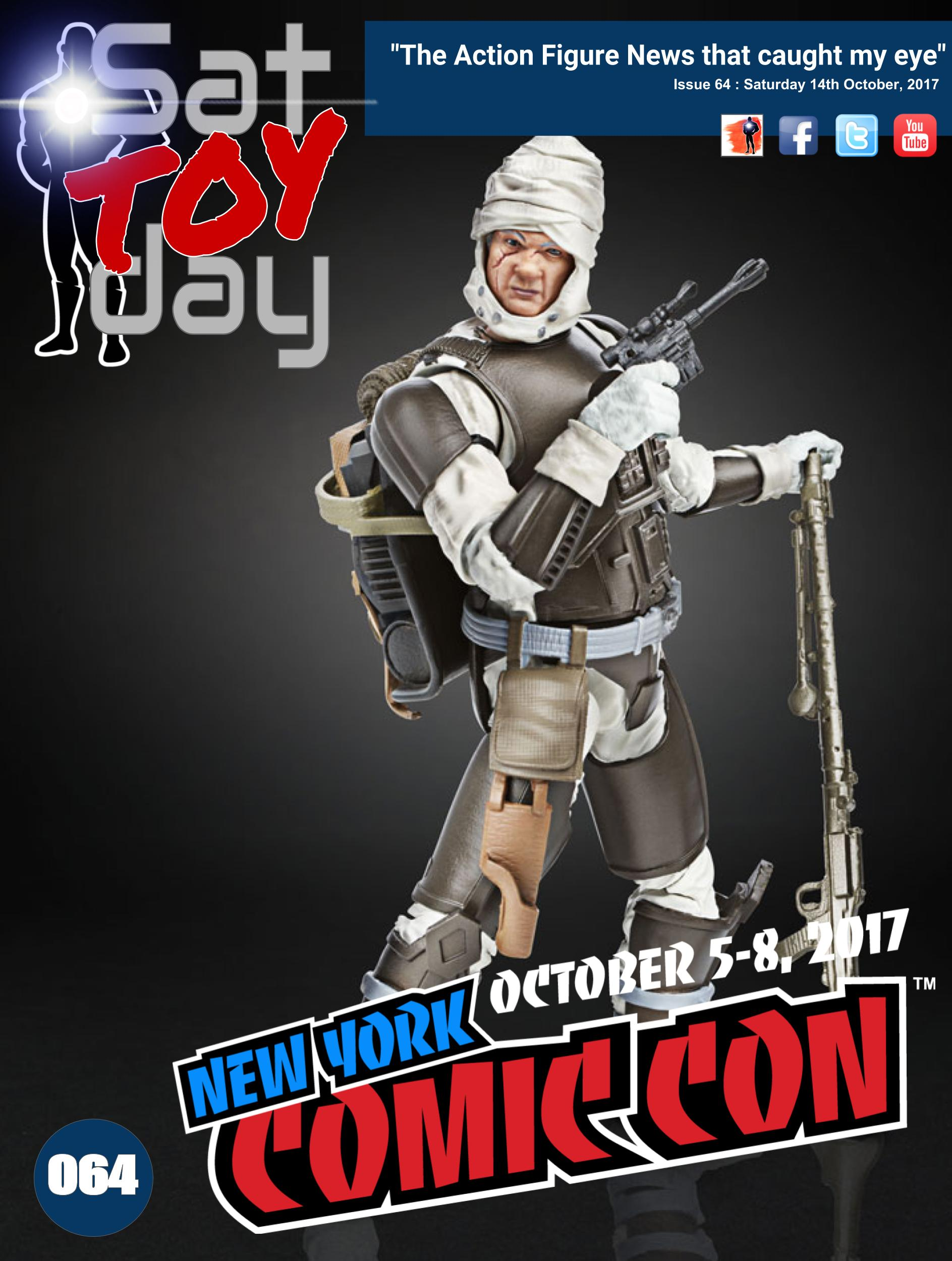 064 Action Figure Sat-TOY-day News, 14th October 2017