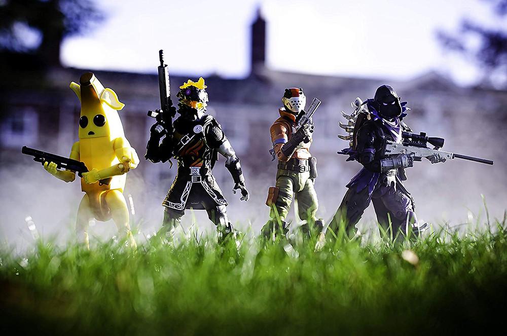 jazwares legendary fortnite series action figures