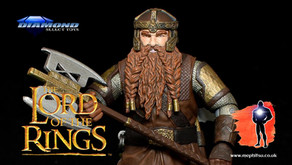 Review : Diamond Select Gimli, Lord of the Rings, The Fellowship of the Ring