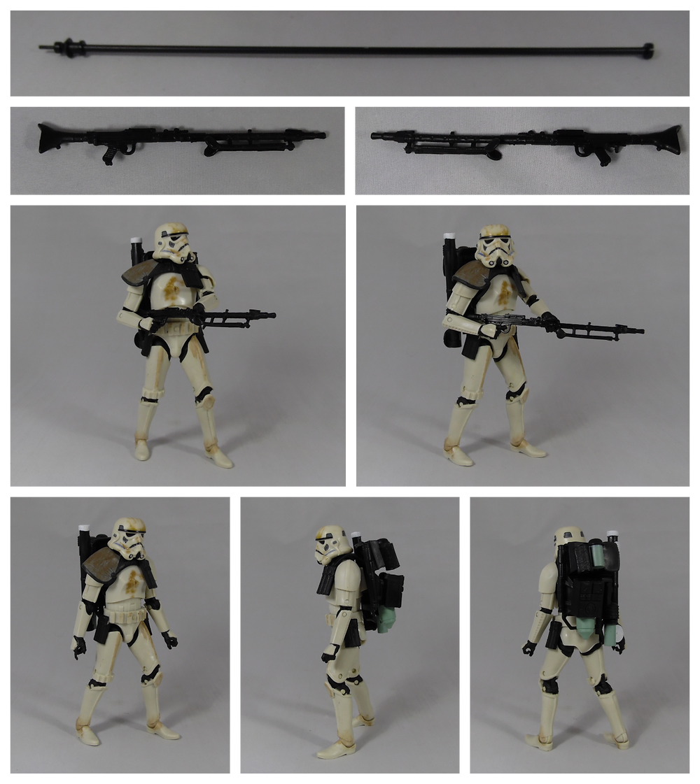Action figure review, star wars black series 6 inch scale dewback and sandtrooper