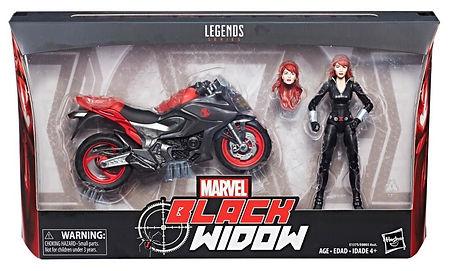 Black Widow, w/ Motorbike