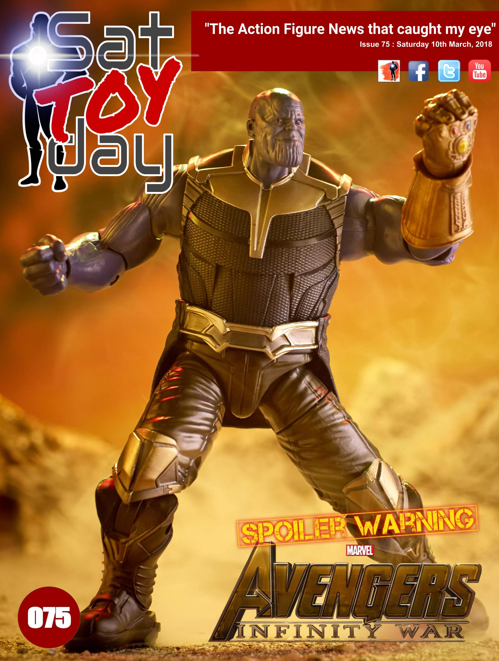 075 Action Figure Sat-TOY-day News, 10th March 2018