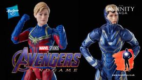Marvel Legends Infinity Saga Captain Marvel and Pepper Potts Rescue, Avengers Endgame (2019)