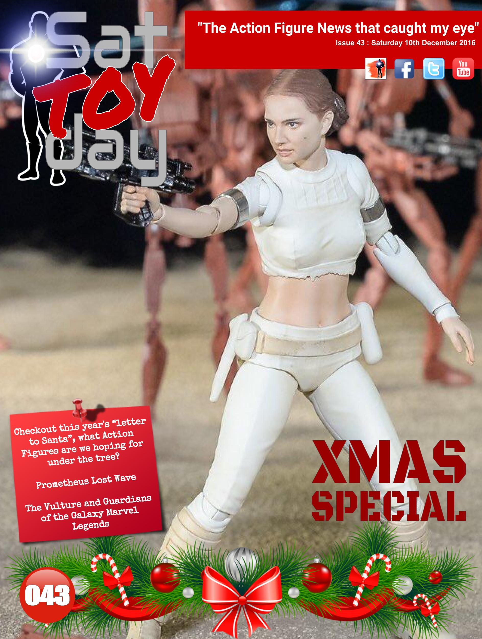 043 Action Figure Sat-TOY-day News, 10th December 2016