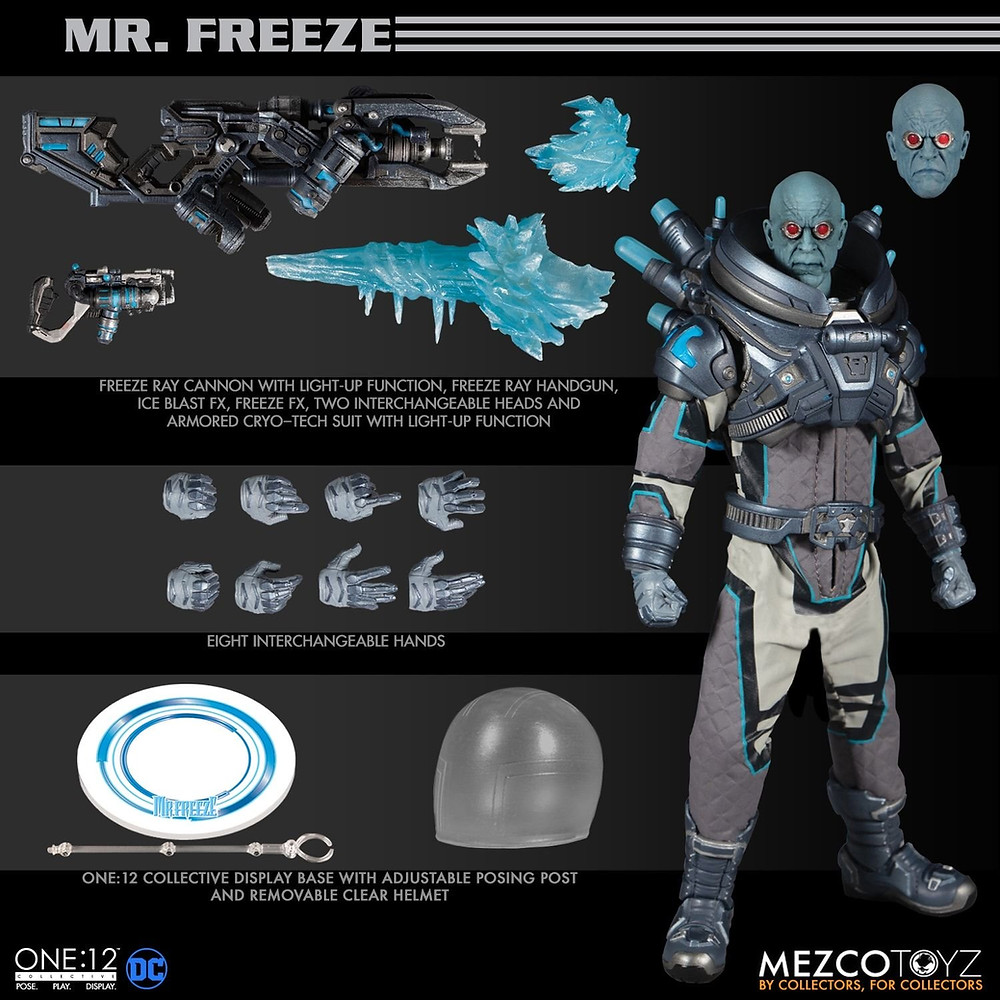 Mr. Freeze, DC Action Figure from Mezco One:12 Collective