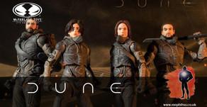 McFarlane unveil Dune 7 inch action figures including Build-a-Figure