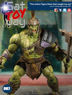 067 Action Figure Sat-TOY-day News, 25th November 2017