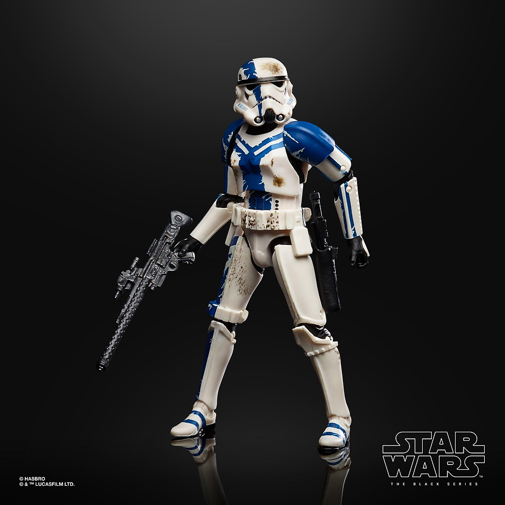Star Wars Black Series Gaming Greats Stormtrooper Commander Action Figure, The Force Unleashed