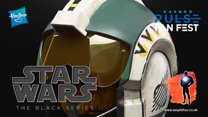 Hasbro Pulse Fan Fest, Star Wars Black Series Wedge Antilles Helmet