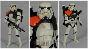 Review : Star Wars Black Series Sandtrooper, Orange Pauldron