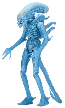 Warrior Alien (Blue), Kenner Inspired