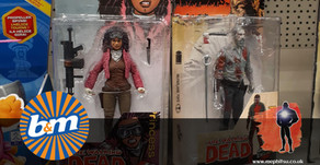 On The Pegs : Walking Dead and Halo Action Figures at B&M