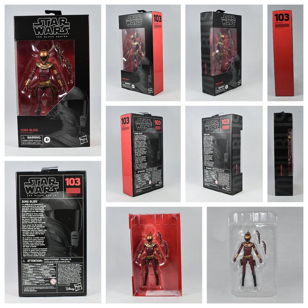 Review Star Wars Black Series Zorii Bliss The Rise Of Skywalker
