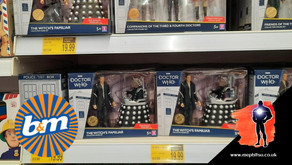 On The Pegs : B&M Stores, Doctor Who, McFarlane and Mego