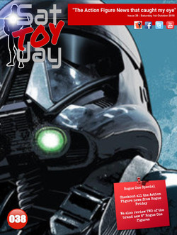 038 Action Figure Sat-TOY-day News, 1st October 2016