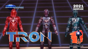 Diamond Select 2021 Showcase: Retro Tron figure 3-Pack Exclusive