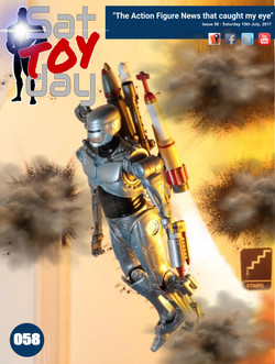 058 Action Figure Sat-TOY-day News, 15th July 2017