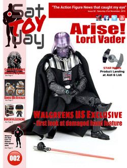 002 Action Figure Sat-TOY-day News, 21st November 2015