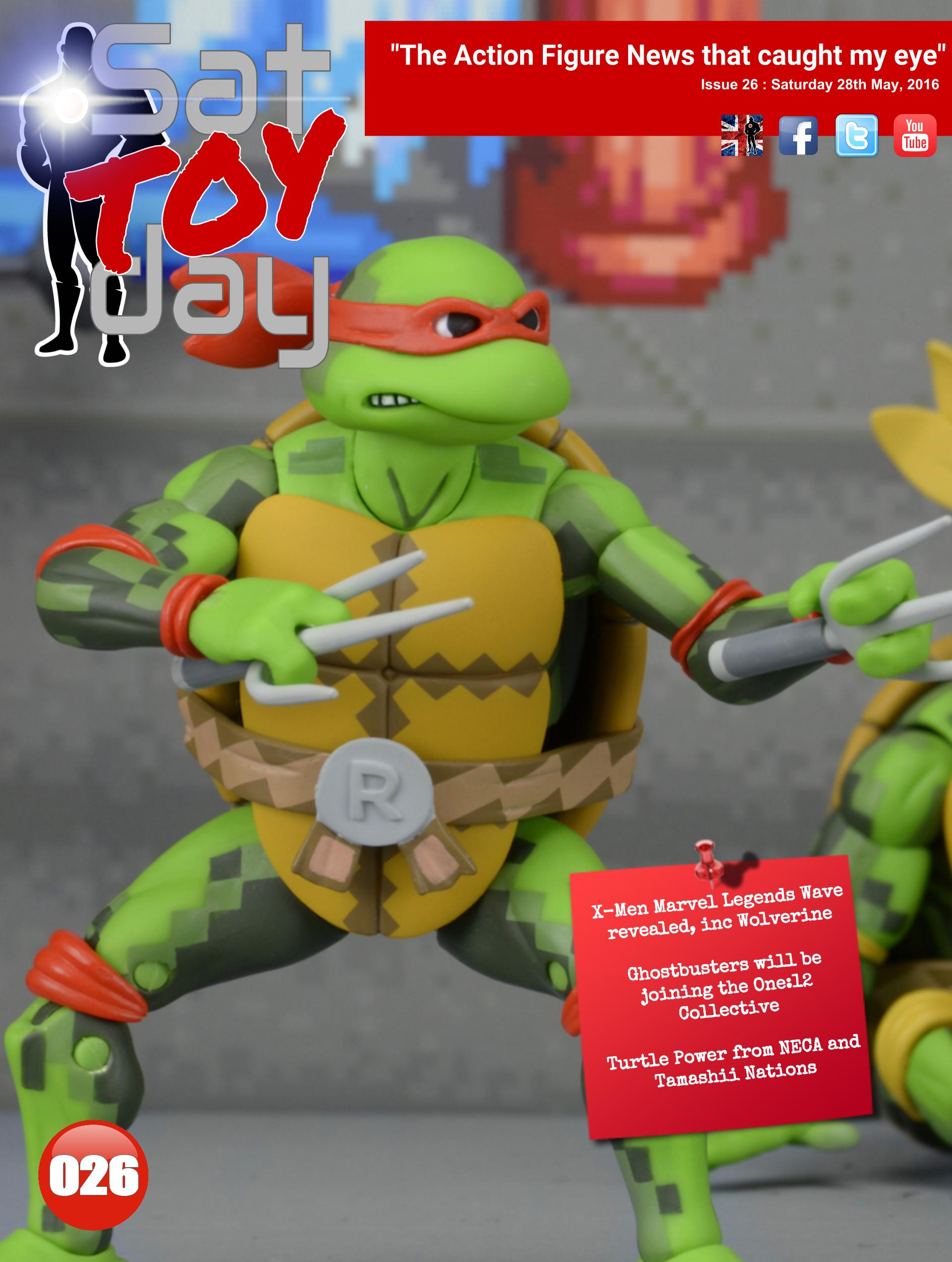 026 Action Figure Sat-TOY-day News, 28th May 2016