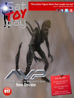 017 Action Figure Sat-TOY-day News, 19th March 2016
