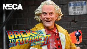 NECA Ultimate Doc Brown, Back to the Future : Part II