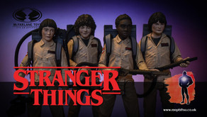 Review : McFarlane Stranger Things Ghostbusters Dustin, Mike, Will & Lucas (Exclusive 4-Pack)