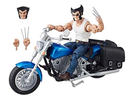 Wolverine, w/ Motorbike