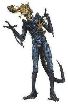 Alien Warrior Blue, Battle Damaged