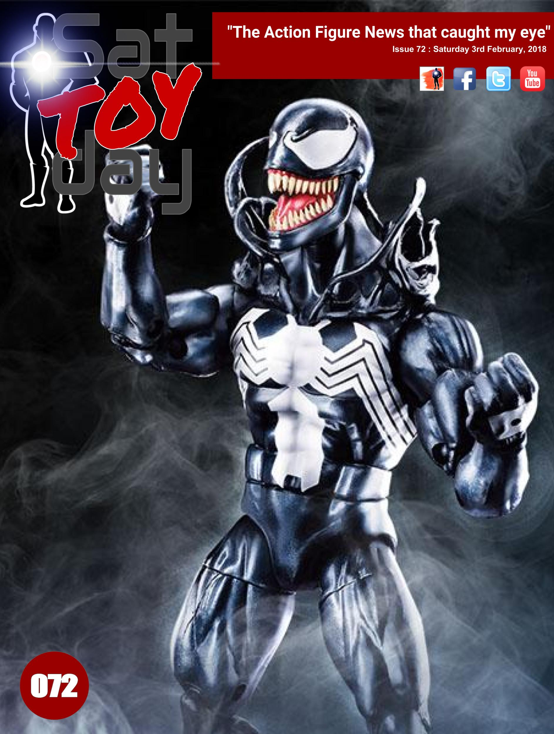 072 Action Figure Sat-TOY-day News, 3rd February 2018