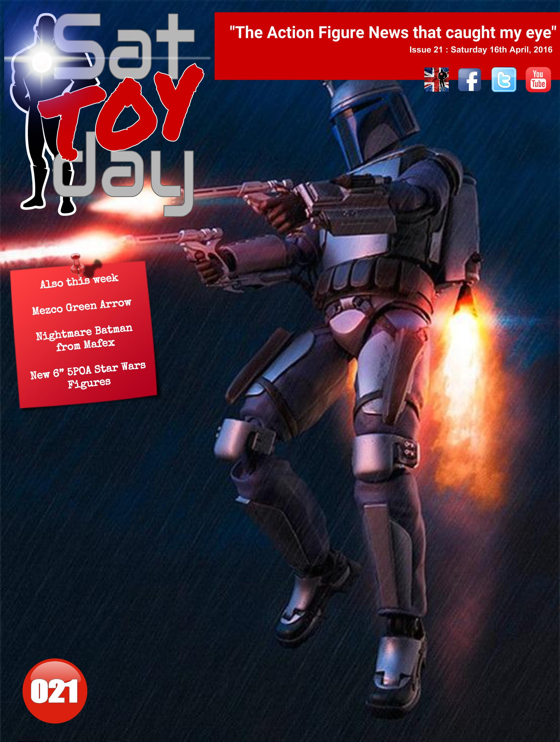 021 Action Figure Sat-TOY-day News, 16th April 2016