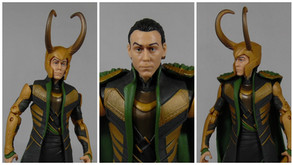Review : Marvel Legends Loki, Avengers Assemble