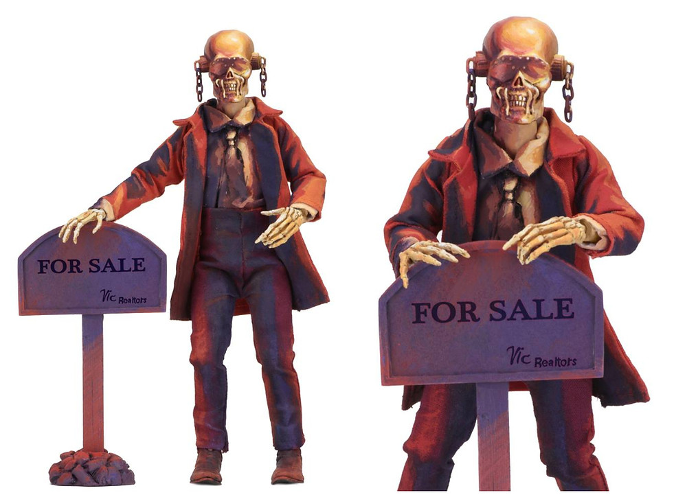 NECA Megadeth Vic Rattlehead 8 inch action figure