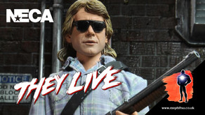 NECA John Nada, They Live, Packaging Reveal
