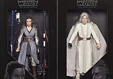 Star Wars Black Series Rey and Luke Skywalker Last Jedi 2-Pack