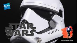 Star Wars Black Series First Order Stormtrooper Electronic Helmet