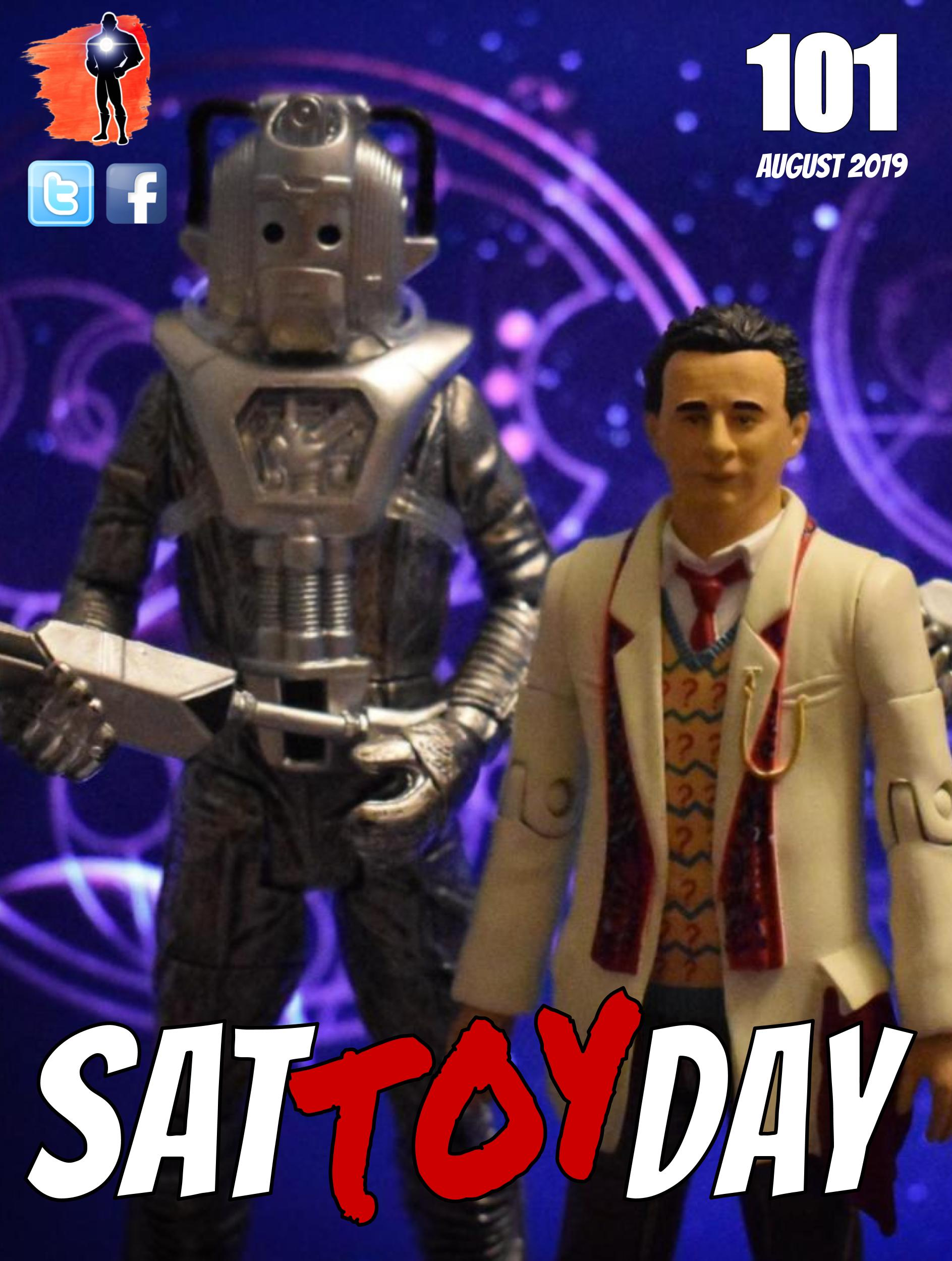 101 Action Figure Sat-TOY-day News, Augu