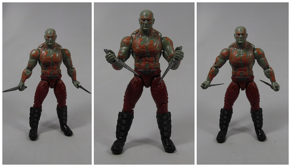 Marvel Legends Infinite Series 6 inch Drax the Destroyer, Guardians of the Galaxy, Review