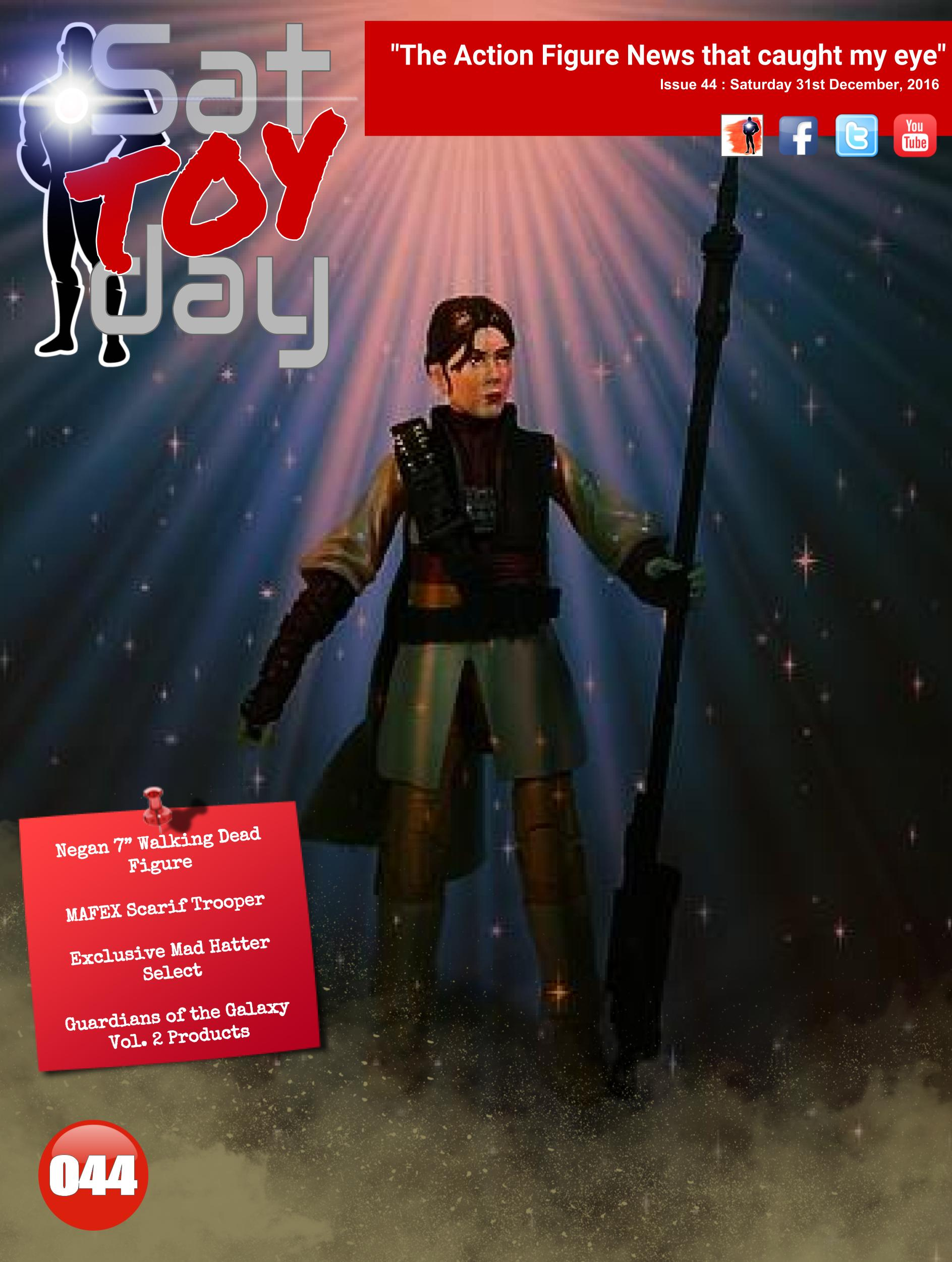 044 Action Figure Sat-TOY-day News, 31st December 2016