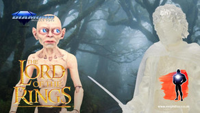 Diamond Select Toys Lord of the Rings SDCC 2021 set of Gollum and Frodo