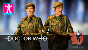 Review : Doctor Who, UNIT 1975 - Terror of the Zygons Set (B&M Exclusive)