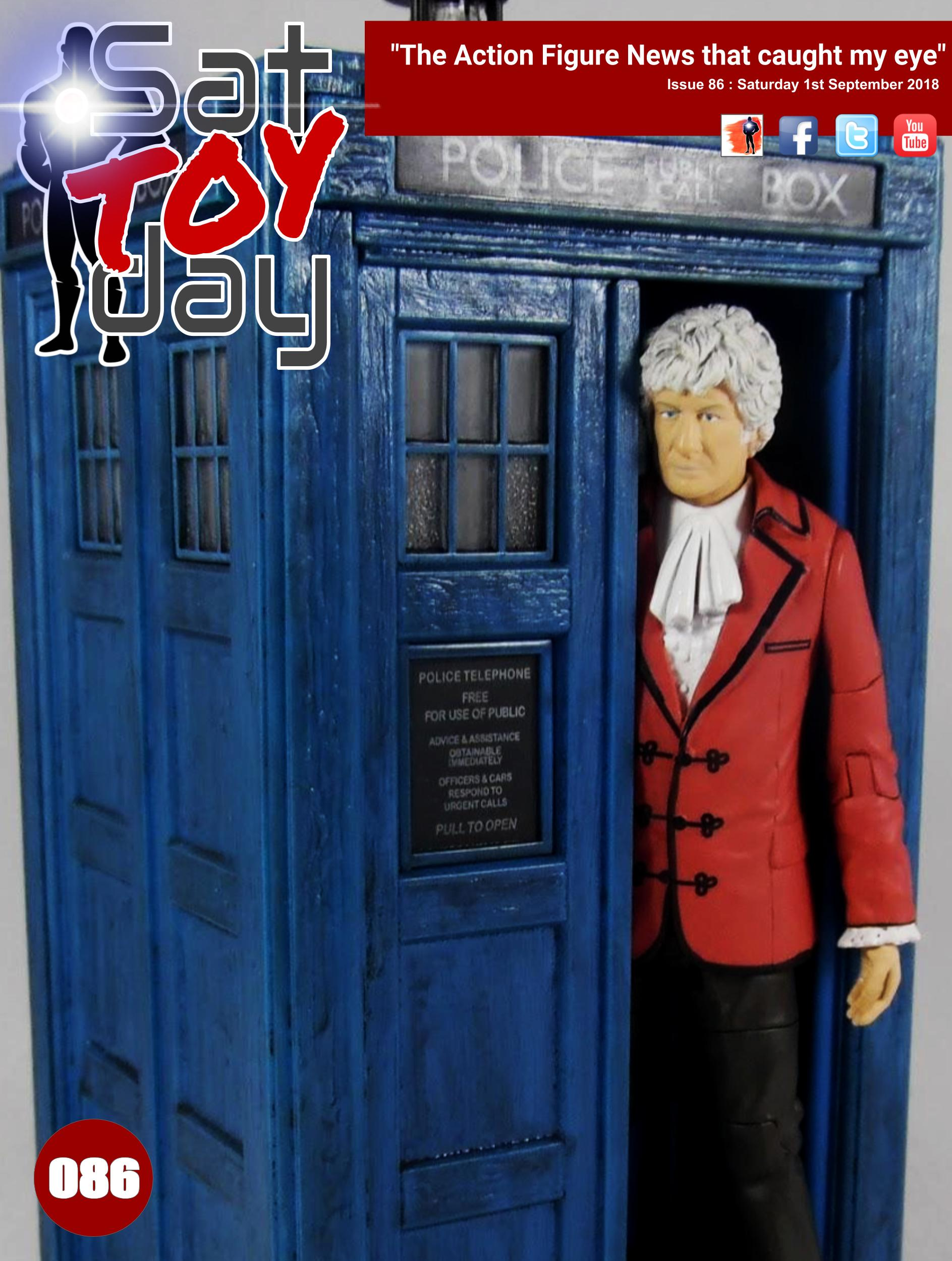 086 Action Figure Sat-TOY-day News, 1st