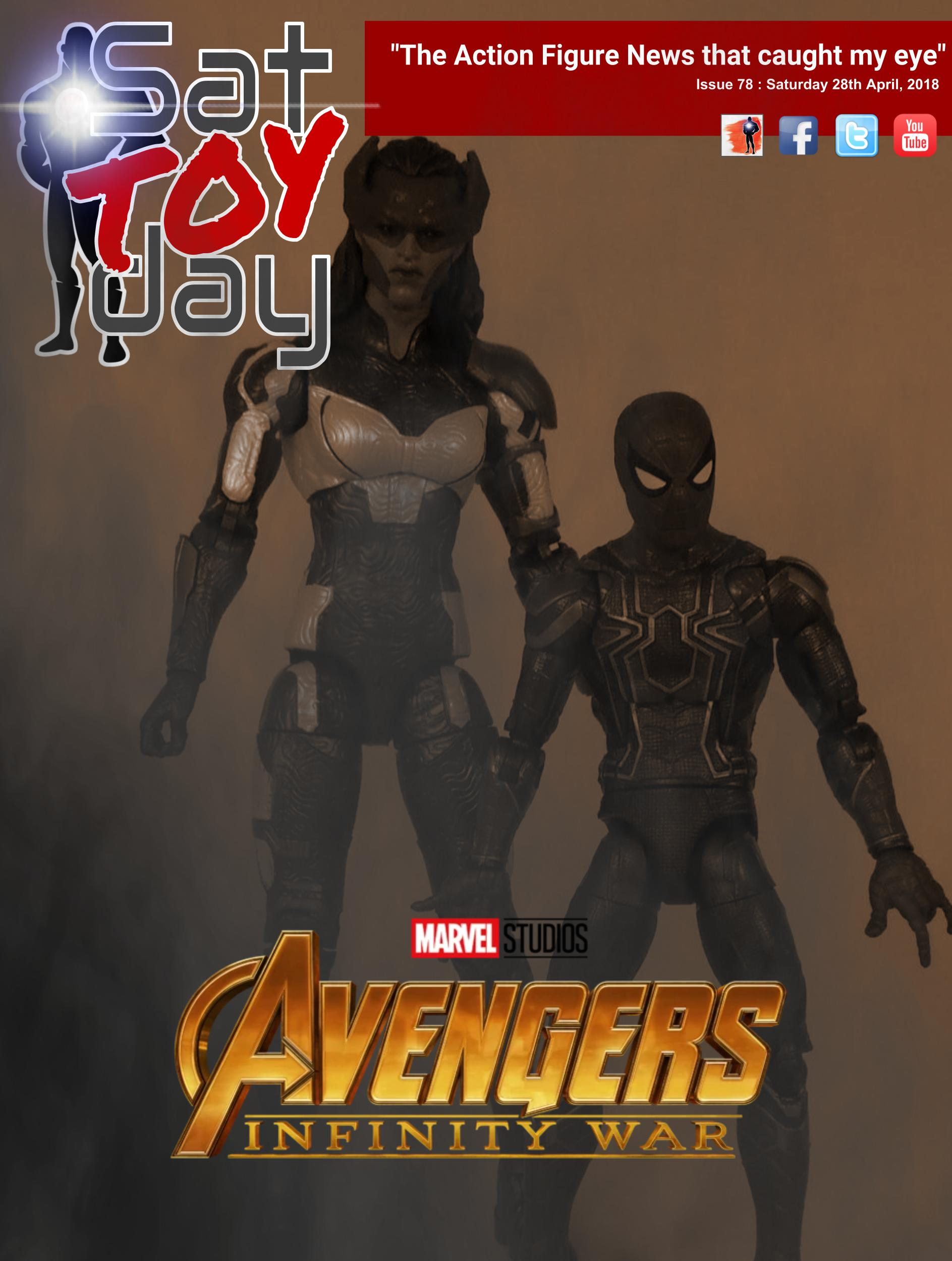 078 Action Figure Sat-TOY-day News, 28th April 2018