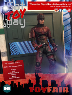 048 Action Figure Sat-TOY-day News, 25th February 2017