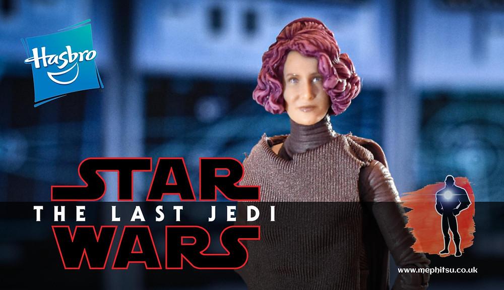 star wars black series vice admiral holdo, the last jedi
