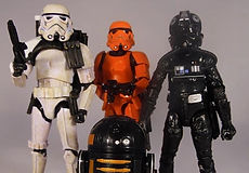Star Wars Black Series Entertainment Earth Imperal 4 Pack