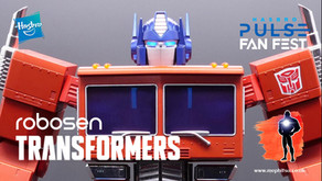 Hasbro Pulse Fan Fest : Transformers Optimus Prime, Robosen self-transforming Robot